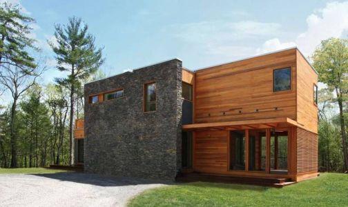 Conoces las casas prefabricadas de madera?